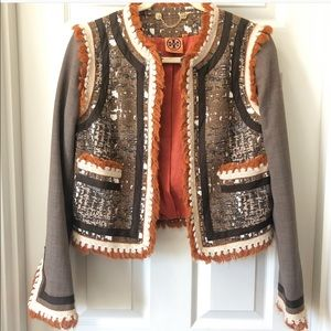 Tory Burch jacket coat mixed size 4